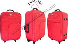 กระเป๋าเดินทางผ้า Kipling สีแดง