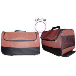กระเป๋าเดินทางคันชักทรงนอน ผ้า 600 D ทูโทน