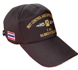 หมวกทรงCAP ปักตราสัญญาลักษณ์ตำรวจ แซนวิทปีก