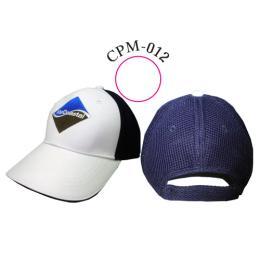 หมวกทรง CAP 6 ชิ้นต่อผ้าหลังด้วยผ้าแซนวิท