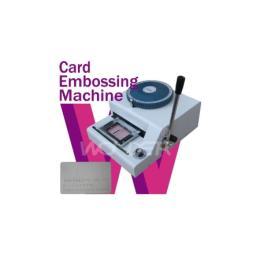 เครื่องปั๊มบัตรพีวีซี EMBOSSPVC