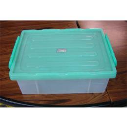 กล่องใสหูล็อค 1305 (ฝาเขียวใส)
