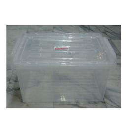 กล่องหูล็อค No.13055 ฝาขาวใส
