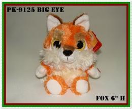 ตุ๊กตาหมาจิ้งจอก รุ่น PK-9125 BIG EYE