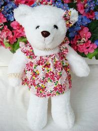 ชุดตุ๊กตาหมีหญิง ชุดกระโปรงเดรส