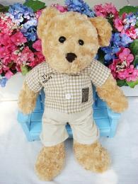 ชุดตุ๊กตาหมีชาย ชุดเสื้อเชิ้ตแขนสั้น