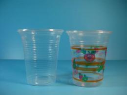แก้วพลาสติกลอน 10oz. ใส/ลาย U85