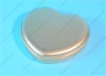 กล่องเหล็ก กล่องหัวใจกลาง สีทอง (BJM-B2-1)