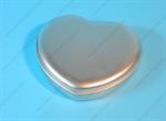 กล่องเหล็ก กล่องหัวใจกลาง สีเงิน (BJM-B2-3)