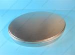 กล่องเหล็ก กล่องทรงรี สีเงินเนื้อทราย (BJM-B14)