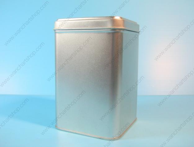 กล่องเหล็ก กล่องใบชา 200g. (BJM-B7)
