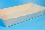 ถาดกระดาษ ถาดขนมปังหยักใหญ่ พื้นขาว (PPC-001)