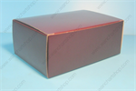 กล่องเค้กสี่เหลี่ยมผืนผ้า สีน้ำตาล (UNI-8459)