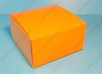 กล่องเค้กสี่เหลี่ยมจตุรัส สีส้ม (UNI-8087)