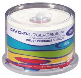 แผ่นดีวีดีอาร์ HHB 50DVD-R4.7GB