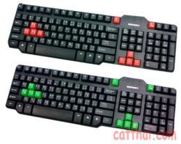 คีย์บอร์ด Keyboard K-800 P