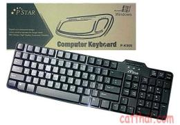 คีย์บอร์ด KEYBOARD K-909 PS2/USB
