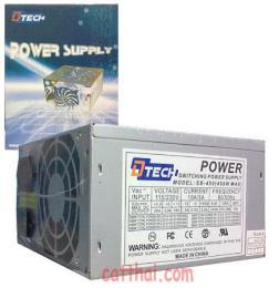 เพาเวอร์ซัพพลาย P/W 450W D-TECH 24PIN BOX