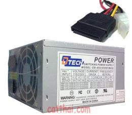 เพาเวอร์ซัพพลาย P/W 450W SATA D-TECH