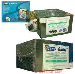 เพาเวอร์ซัพพลาย P/W 650W SATA D-TECH BOX