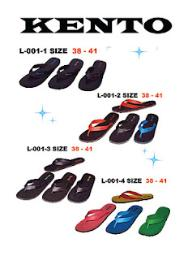รองเท้าแบบ L-001