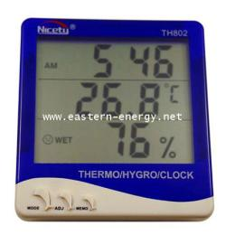เครื่องวัดอุณหภูมิ และความชื้น Hygro-Thermometer รุ่น TH802