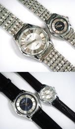 นาฬิกาข้อมือโลหะอัลลอยย์ HALEI -MCIIMXM EA437ML