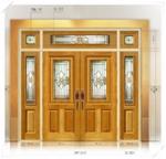 ประตู Stained Glass FRT012