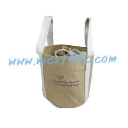 กระเป๋าผ้ากระสอบป่าน B540026