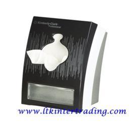 กล่องกระดาษเช็ดปาก หน้ากากเดคอร์ นีโอ แบล็ก