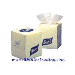กระดาษเช็ดหน้า SCOTT® 60 แผ่น