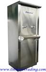 ตู้ทำน้ำเย็นสแตนเลส 2 หัวก็อก  S-200