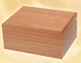 กล่องดนตรี 30 ตัวโน๊ต ทำจากไม้ White Oak (กล่องสีธ