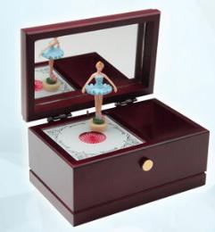 กล่องบัลเล่ต์ สีฟ้า