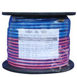 สายพ่นน้ำยา TRIC สีน้ำเงิน (พร้อมโรล) ขนาด 8.5 mm.