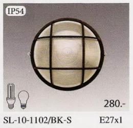 โคมไฟแนบผนัง   SL-10-1102/BK-S