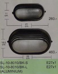 โคมไฟแนบผนัง SL-10-8010/BK-S