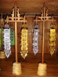 ตุงเงินตุงทองพร้อมฐาน CT002