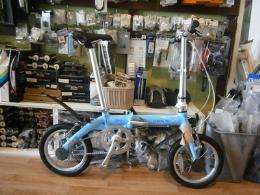 จักรยานพับ  Dove 14 นิ้ว Single Speed