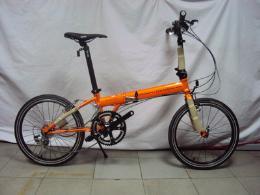 จักรยานพับ รุ่น Archer R P18 สีส้ม