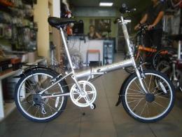 จักรยานพับ รุ่น Bullet Silver