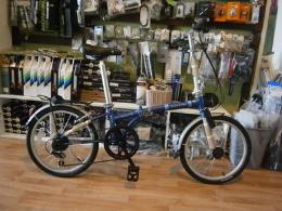 จักรยานพับ รุ่น Dream สีน้ำเงิน