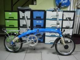 จักรยานพับ รุ่น Jane D7