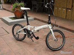 จักรยานพับ รุ่น Obi wan สีขาว