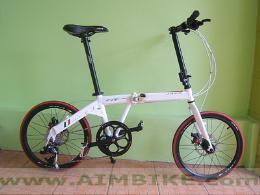 จักรยานพับ รุ่น Fit สีขาว