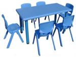 ชุดโต๊ะสี่เหลี่ยม พร้อมเก้าอี้ 6 ตัว LHD244B