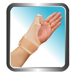 เฝือกรัดข้อมือและนิ้วหัวแม่มือ Thumb Brace Brawn (2 sides-in-1) 004