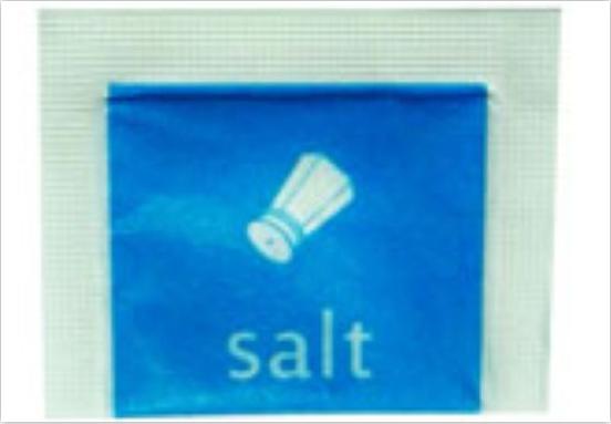 เกลือป่น แพคซอง 1 กรัม Salt