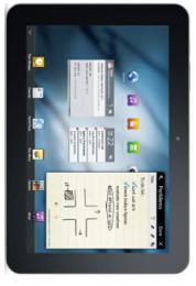 แท็บเล็ต Galaxy Tab 8.9 WiFi