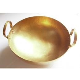 กระทะทองเหลือง เบอร์ 15 brass wok